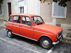 Renault 4 rouge