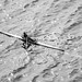 """單人雙槳赛艇 Single Scull Rowing"" / 香港水上體育運動 Hong Kong Water Sports Forms / SML.20130316.7D.35141.BW"
