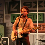 Dawes plays the WFUV Public Radio Rocks Day Stage at SXSW. 3-15-2013. Photo by Laura Fedele