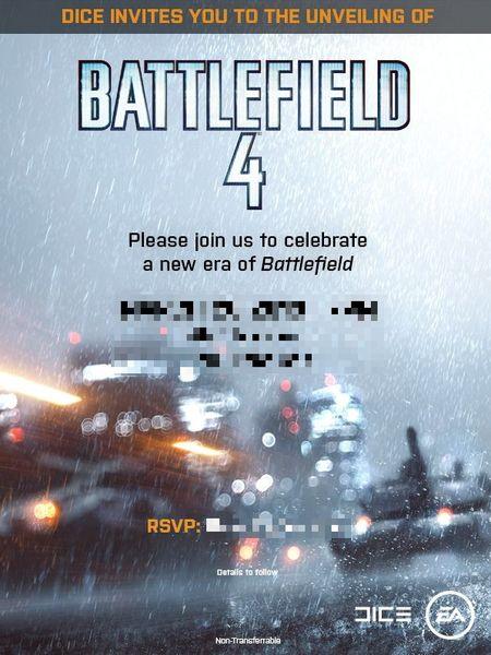 Дата выхода Battlefield 4