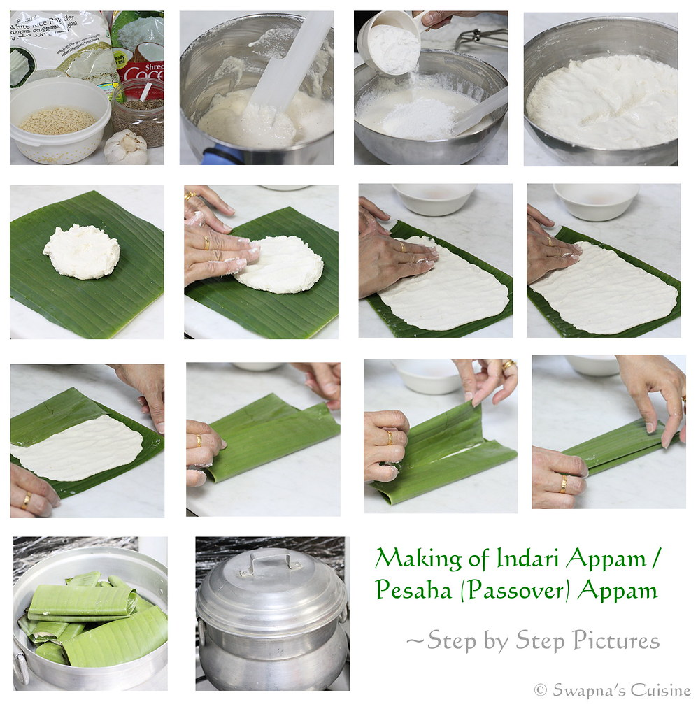 How to make Indari Appam / Pesaha (Passover) Appam with Step by Step Pictures and Video