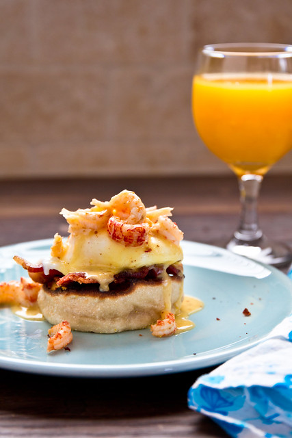 Eggs Trivette (Crawfish Eggs Benedict)