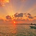 Maldivian Sunset by Raaidhu