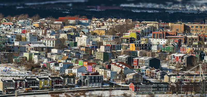 Color of winter in the city of St. John's #2