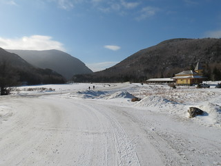 Crawford Notch from Macomber Visiter center