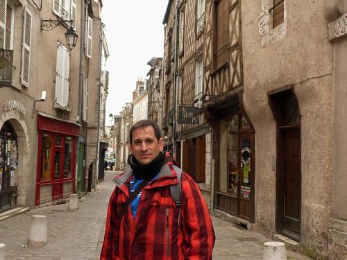 En una calle de Blois