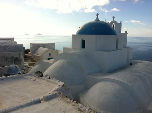 Thirasia Monastery - Flickr: qcom