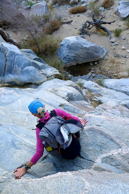 Maneuvering Rock Falls