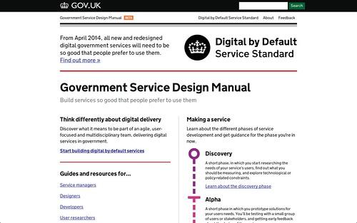 Government Service Design Manual