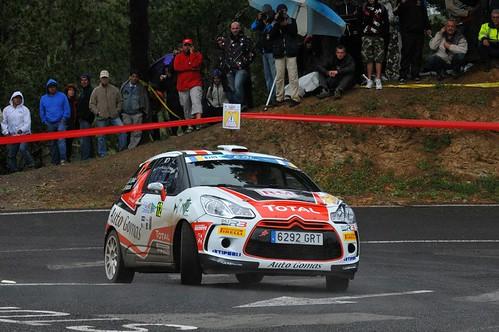 Ojeda en el Rallye Islas Canarias 2013