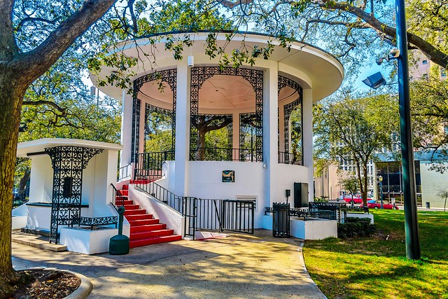 Bienville Square Gazebo In Downtown Mobile AL Flickr Photo Sharing