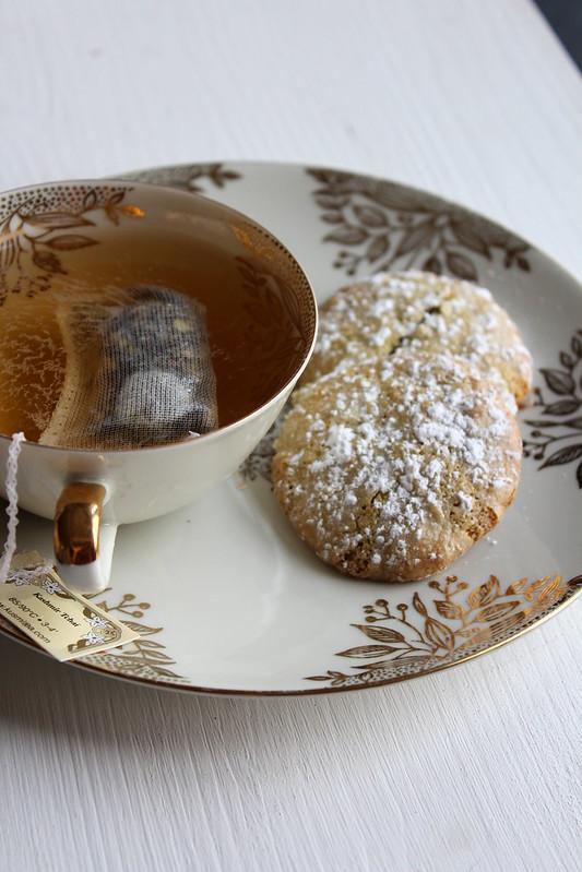 Amaretti au thé vert matcha