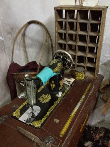 Singapore Chinese Heritage Museum - sewing machine