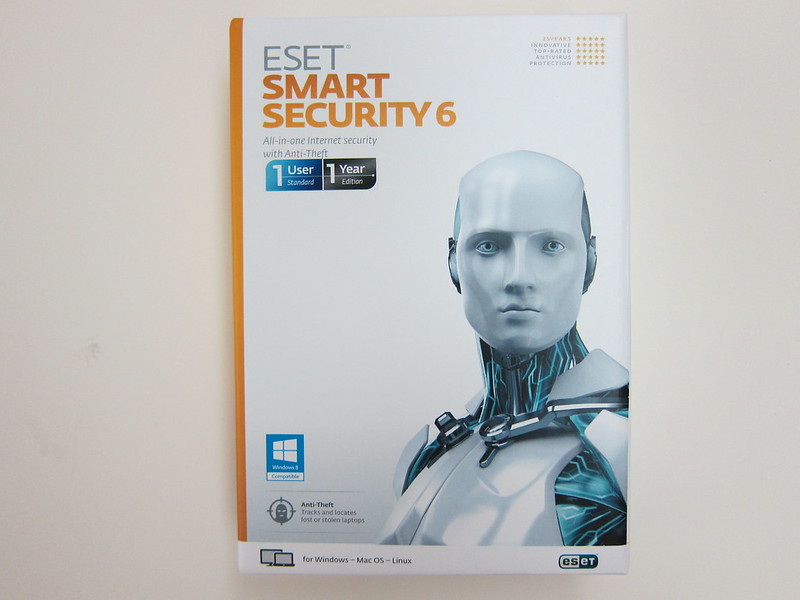 ESET Smart Security 6 - Box Front