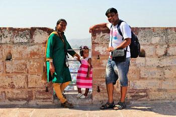 Smita, Riana & Subhadip