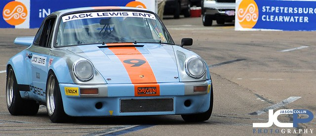 Classic Porsche 911 at the St. Petersburg Grand Prix 2013