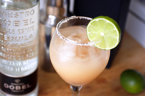 grapefruit margarita w/ dobel