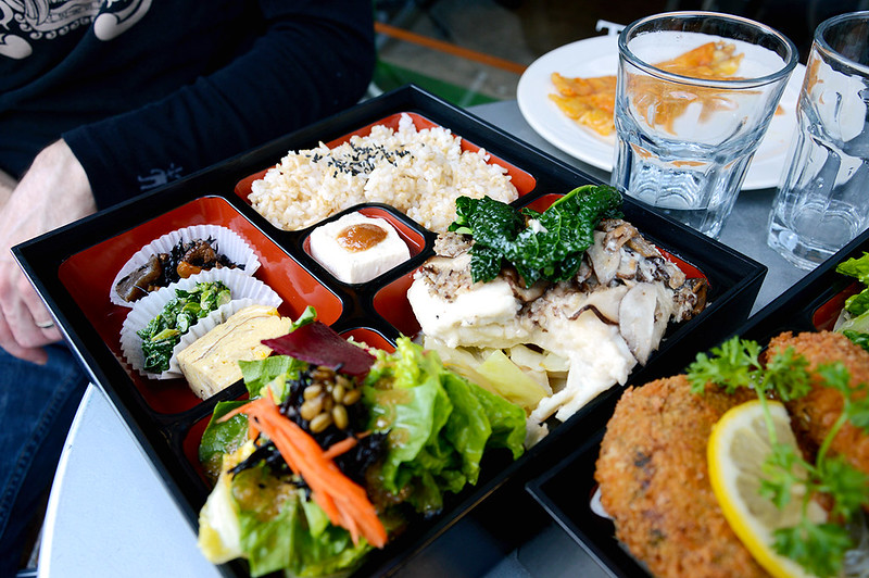 Mike's Halibut Bento
