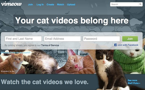Vimeo becomes ViMEOW for April Fools' Day