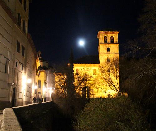 La Carrera del Darro - rua mais bonita de Granada