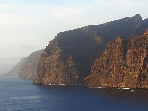 Los Gigantes at sundown, Tenerife