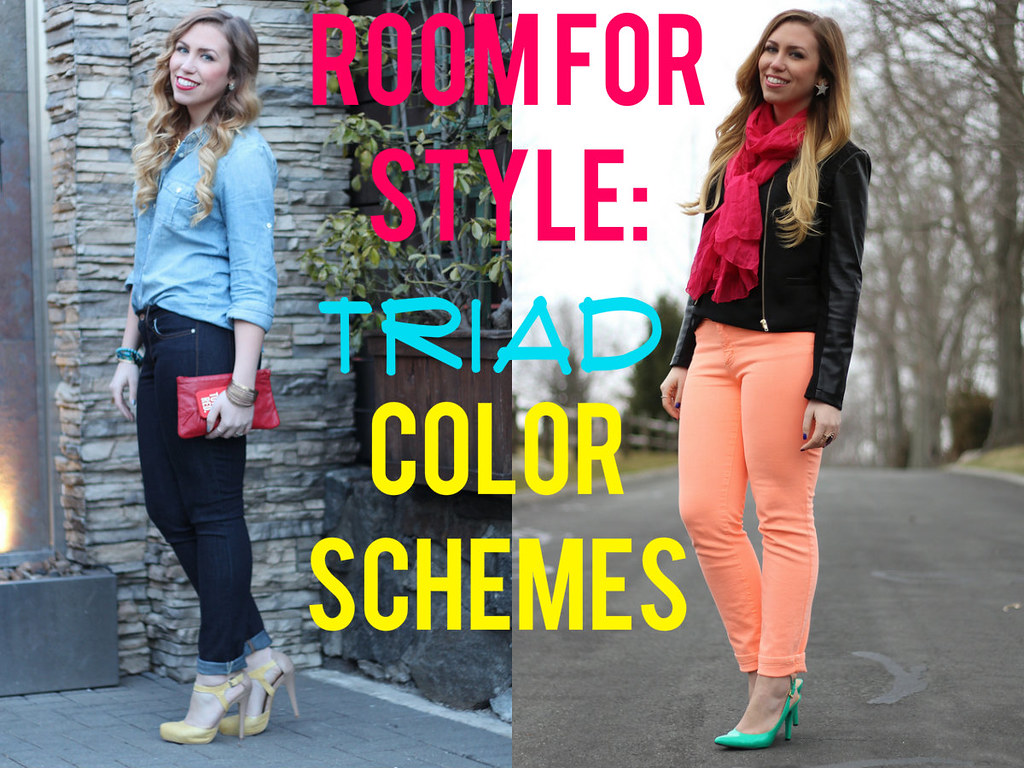 Living After Midnite Room For Style Triad Color Schemes