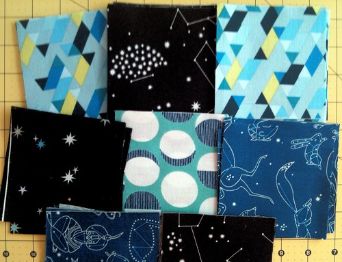 Beautiful Constellations fabric