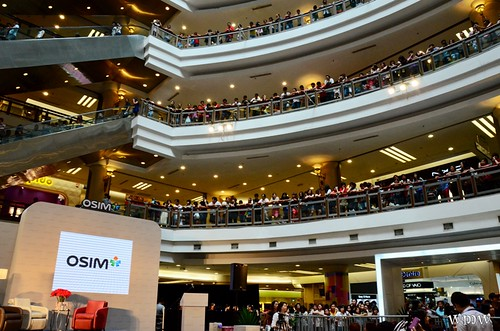 OSIM uAngel Launch by Sammi Cheng