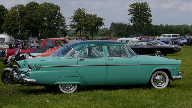 1955 plymouth belvedere 4 door sedan v8 flickr photo