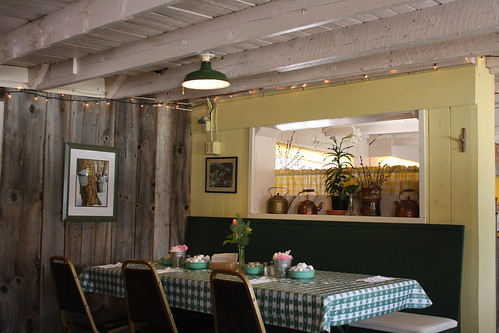 Sugar shack dining room