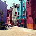 The colors of Burano (calle pizzo) by Laurent photography