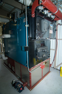 Solagen pellet boiler at Illinois Valley High School