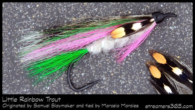 #28-2013 Little Rainbow Trout tied by Marcelo Morales