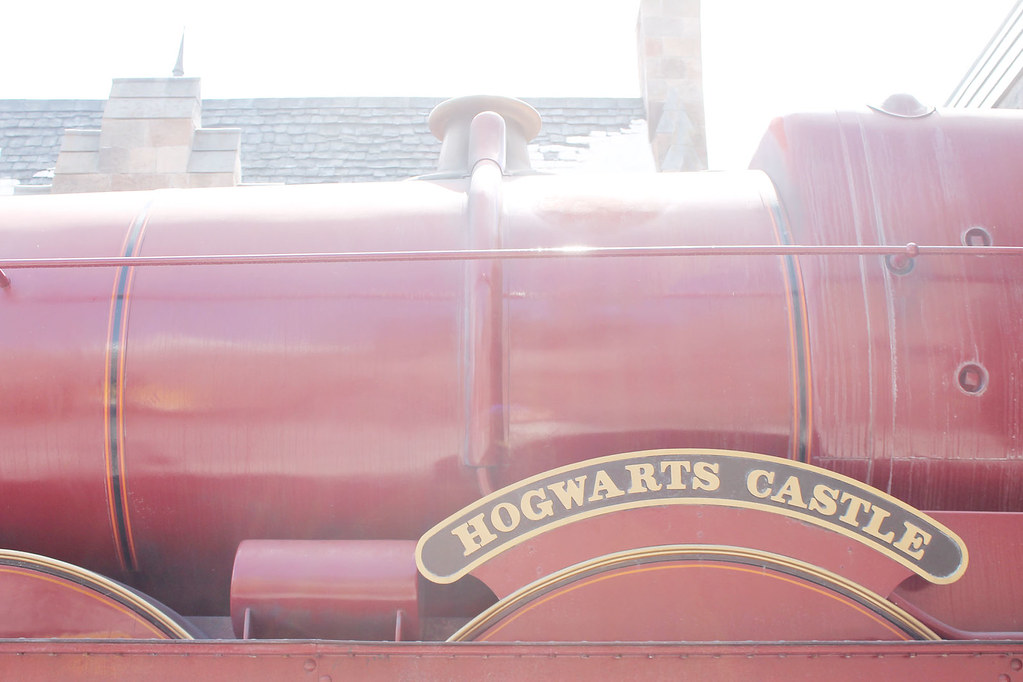 hogwarts express side