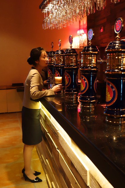 Taedonggang Craft Brewery Bar Pyongyang, North Korea