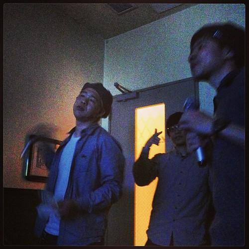 清水がまた静岡に帰っちゃうから「物語はちと不安定」歌ってる