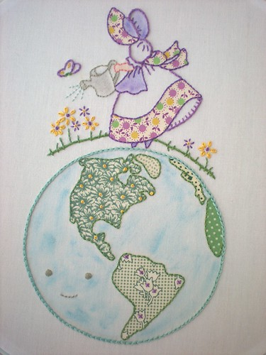 Earth Day Pattern Mash-Up