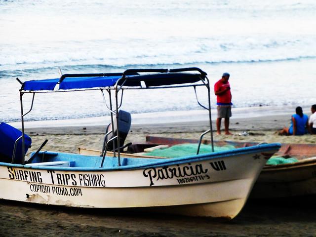 Fishing boats in Sayulita