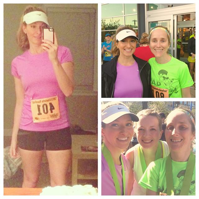 Pre-race, post race, race outfit