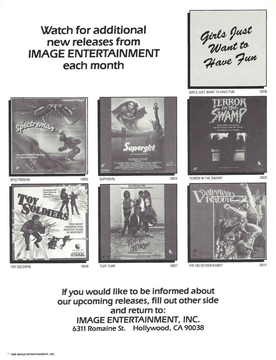 1984 Image Entertainment