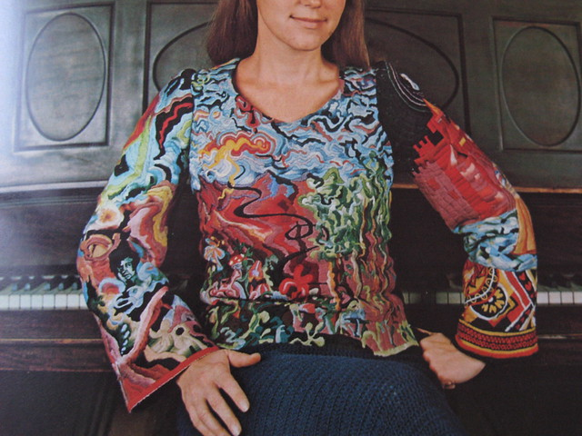 70s Crewel Embroidery
