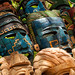 #3 Mexican local crafts. Mayan Masks | Chichen Itza | Mexico by Daniele Romeo Ph
