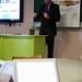 Minister van Onderwijs Pascal Smet gaf een inspirerende en motiverende speech