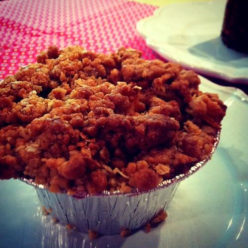 Rose Bakery … アップルクランブル