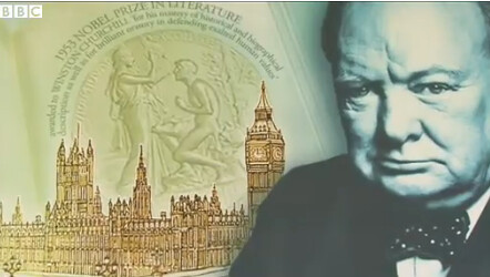 Winston Churchill banknote