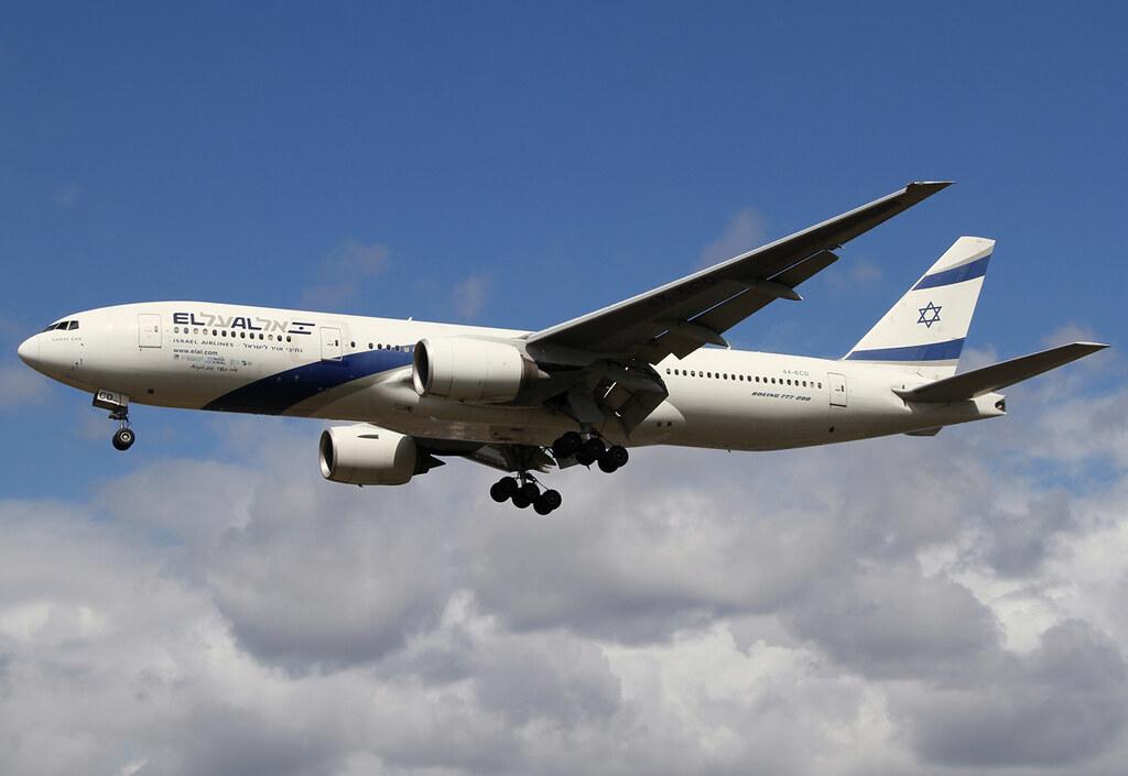 Short final for RWY27L inbound from Tel Aviv TLV. Delivered 06/2002.