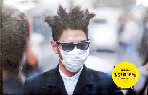 BIGBANG KBS Music Bank arrival 2015-05-15 cr on pic 009