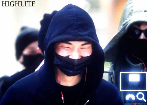 Big Bang - Incheon Airport - 10apr2015 - Dae Sung - High Lite - 01