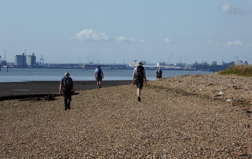 By Southampton Water Botley to Netley walk