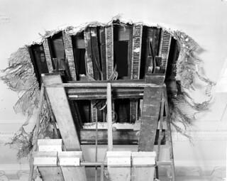 Split Beam above White House Lobby Ceiling, 01/25/1950